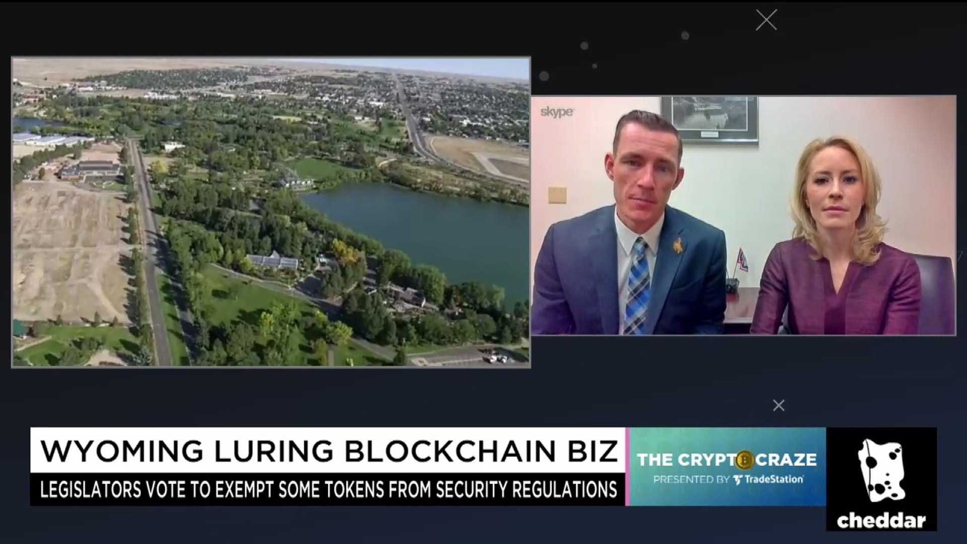 Wyoming Wants to Be a Crypto Hub