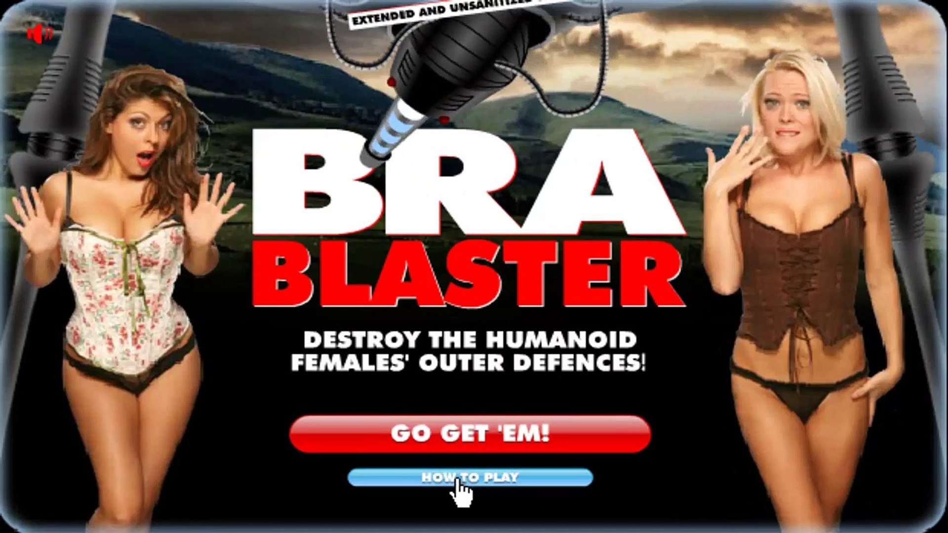 BRA BLASTER - Fun Flash Game to Blast the Bra ???