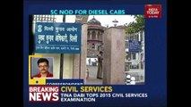 Supreme Court Allows Diesel Taxis With All India Permit In Delhi