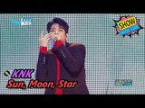 [HOT] KNK - Sun, Moon, Star, 크나큰 - 해.달.별 Show Music core 20170610