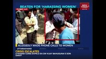 Youth Thrashed In Public For Harassing Woman