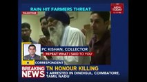 VIDEO: Rajasthan Collector Threatens Farmers Seeking Compensation