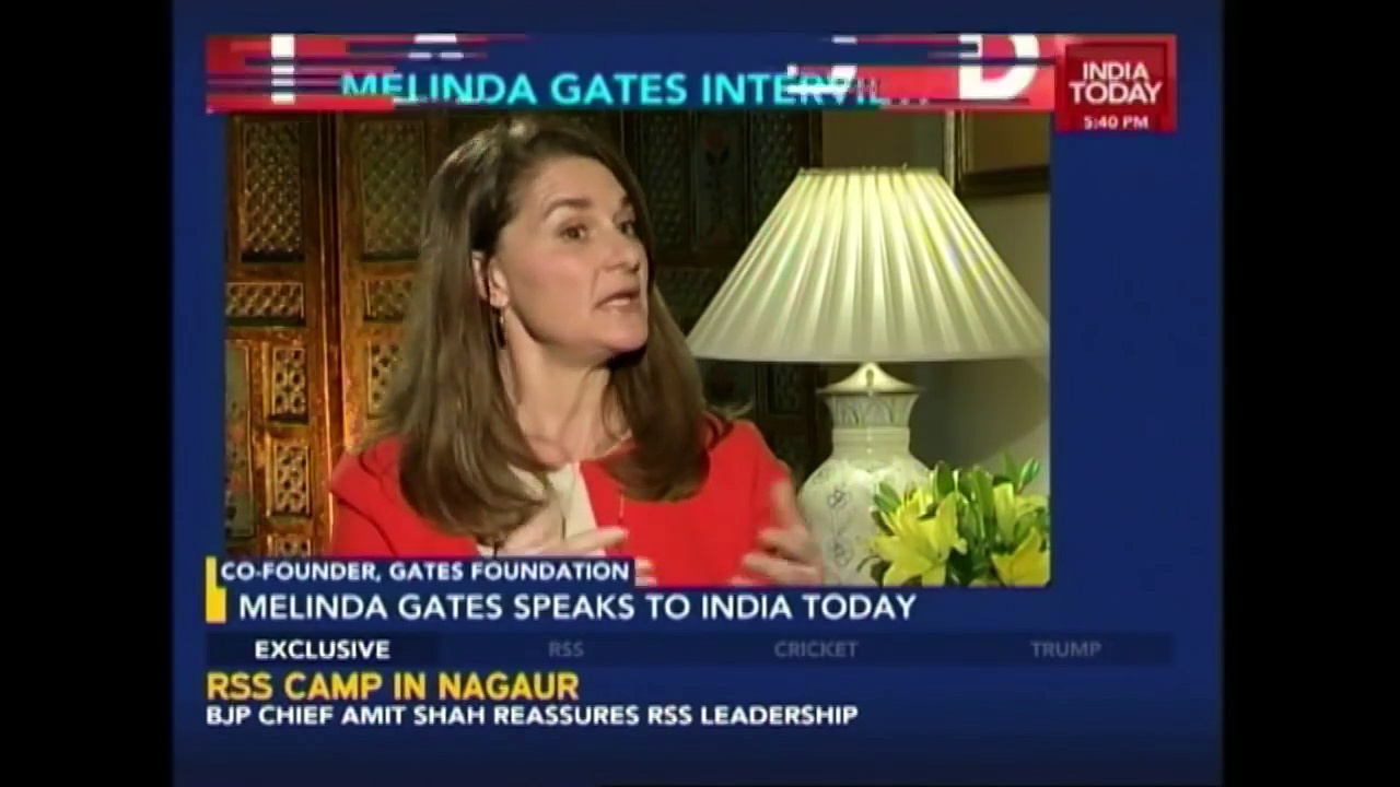 India Today Exclusive: Melinda Gates Interview