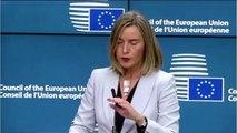 Η απάντηση που έδωσε η Federica Mogherini σε ερώτηση της Μαρίας Αρώνη (ΑΝΤ1) σχετικά με το περιστατικό στον Έβρο, ύστερα από τη σχετική ενημέρωση του Ευρωπαϊκού Συμβουλίου Εξωτερικών & Άμυνας από τον ΥΕΘΑ Πάνο Κάμμενο
