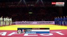 France-Corée du Sud, quart de finale - ChM 2017 de judo par équipes mixtes