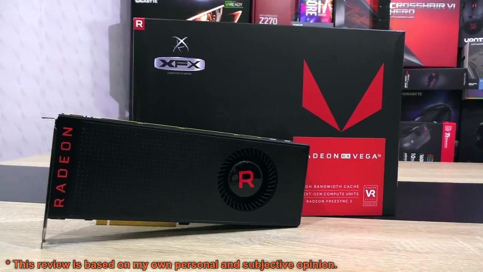 RX Vega 56 + Vega 64 BIOS + Overclock