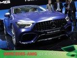 Mercedes-AMG GT 4 portes Coupé en direct du salon de Genève 2018