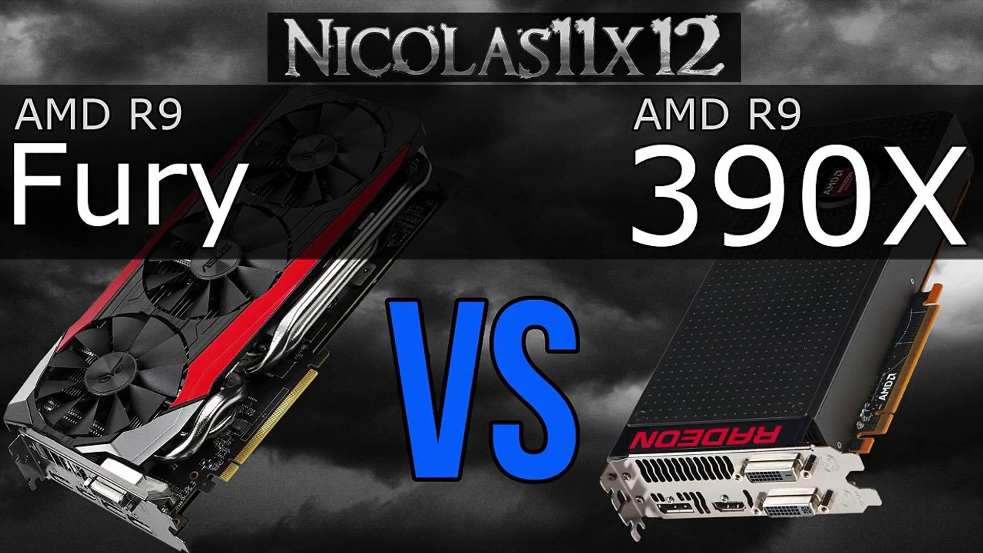 AMD R9 Fury vs R9 390X