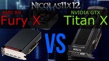 NVIDIA GTX 1070 vs AMD R9 Fury (X) - video dailymotion