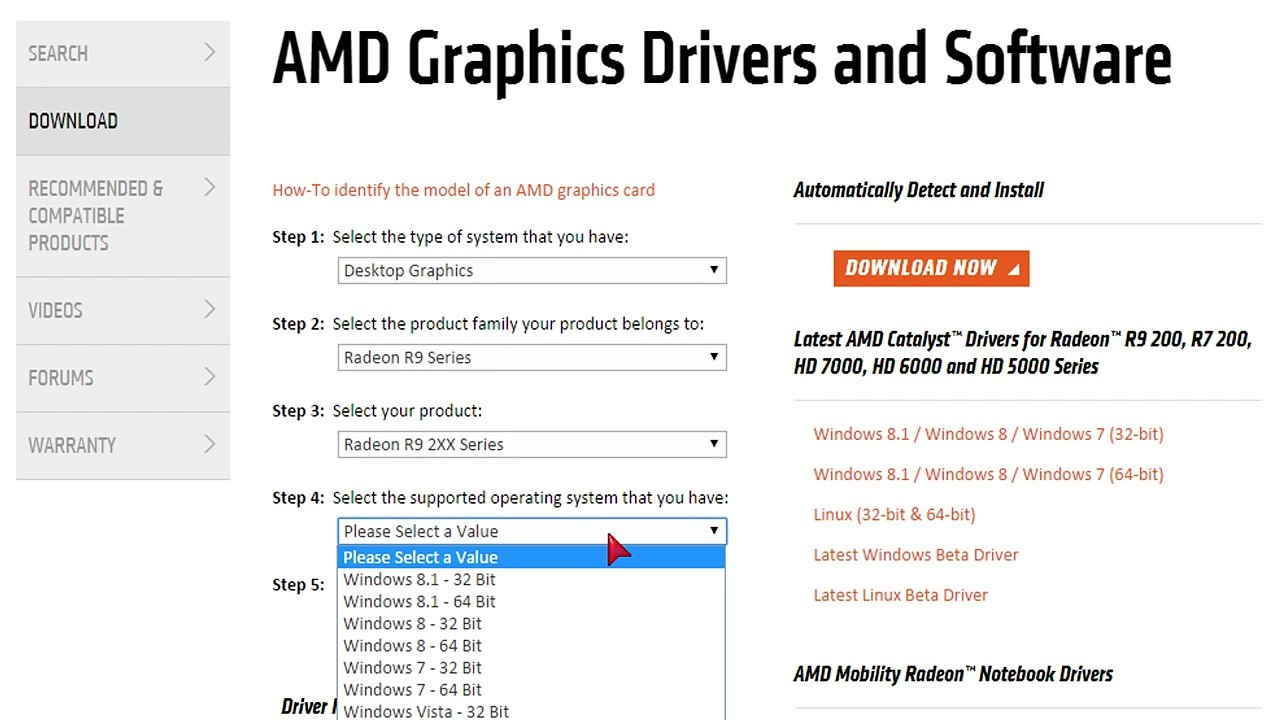 How To Install Amd Graphics Driver Video Dailymotion