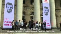 "PSG/Real: ""ce sera un match passionnant"" dit Beckham"