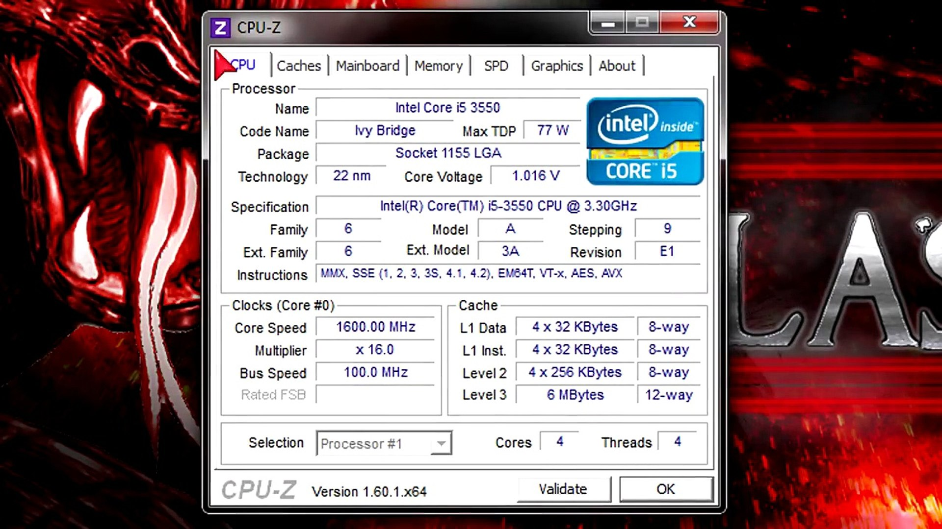 Intel Core i5-3550 CPU Review