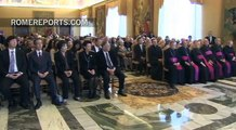Pope Francis with John Paul II Foundation: Educating youth is an investment for the future