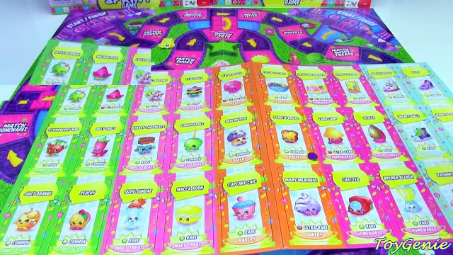 *NEW* Shopkins Shopping Cart Sprint Game with Exclusive Carts
