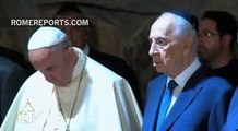 Pope at Holocaust Memorial: Never again, Lord, never again!