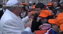 Pope Francis: It\'s not human for families to remain hungry from paying off loan sharks