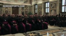 Pope to new bishops: Don't become 'airport bishops.' Be involved in your diocese