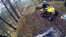 ATV-Enduro Olkusz/ Quad riding renegade 1000, xp 850, raptor 700, grizzly 700, ltz 400, trx 500