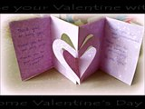 *Holiday Crafts*: 3D Hearts Valentines Day Card!