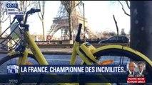 Urine sur la voie publique, déchets, dégradations… Les Français, champions des incivilités?