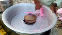 COTTON CANDY ( IN MUMBAI IT KNOWN AS BUDDHI KA BAAL ) on Mumbai street II Mumbai street food II