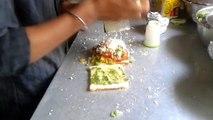 Mumbai ka CHEESE GRILLED SANDWICH II street food II Mumbai street food II