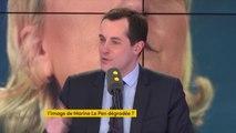 """Dégradation de l'image de Marine le Pen (sondage) : Nicolas Bay dénonce """"une entreprise de démolition depuis des mois et des mois pour essayer de porter atteinte à la réputation du FN et de Marine Le Pen"""""""