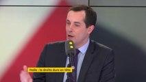 """""""Emmanuel Macron multiplie les coups de menton sur la question d'immigration en affichant une prétendue fermeté qui n'est évidemment pas corroborée par les actes"""" dénonce Nicolas Bay (FN)"""