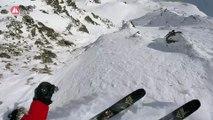 Le run vainqueur de Kristofer Turdell à Vallnord à vivre en caméra embarquée - Adrénaline - Ski