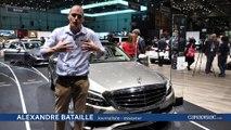 Mercedes Classe C restylée - Salon de Genève 2018