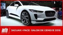 Salon de Genève 2018 - Jaguar I-Pace : un rival pour la Tesla Model X ?