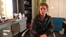 Sur le tournage d'Intime conviction d'Antoine Raimbault avec Marina Foïs - Reportage cinéma
