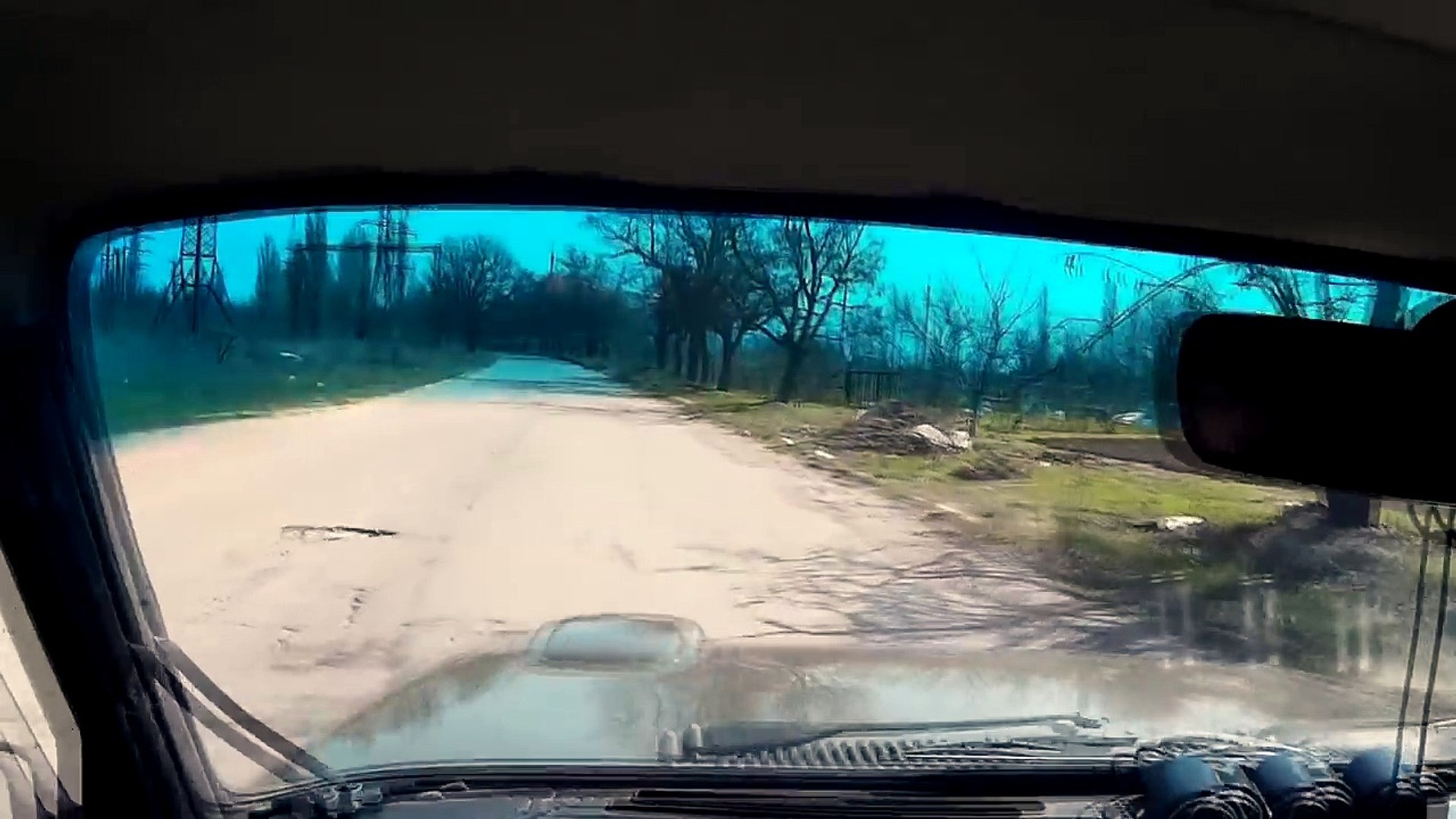 Как Объезжать Ямы на Дороге   Как Почувствовать Габариты Автомобиля - Видеоурок Вождения #16