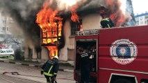 Ev yangını - ANTALYA