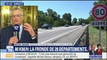 """Limitation à 80 km/h: """"J'appelle le gouvernement à modifier sa position"""", déclare Michel Raison, sénateur LR"""