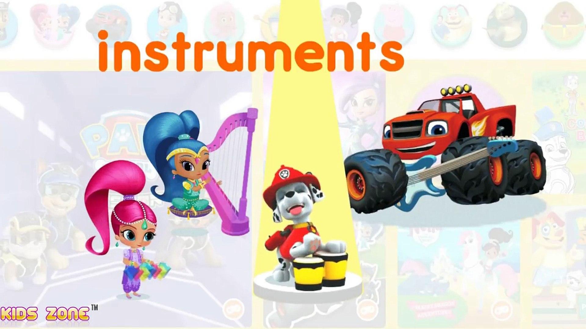Nick Jr Alphabet - Nick Jr Alphabet Buttons - Nickelodeon ABC learning Video for Kids