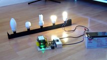 Make an inverter : DIY Experiments #2 - Power AC devices with a battery / homemade inverter