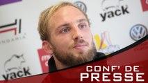Conf' de presse d'avant-match Toulon-Agen J20 TOP14
