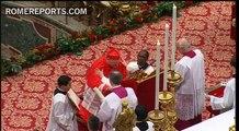 Benedict XVI welcomes 22 new cardinals