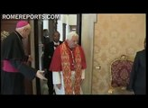 Benedict XVI receives Joseph Tebah-Kla, new Ivory Coast Ambassador to the Vatican