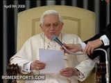 Who is Saint Benedict, according Pope Benedict XVI