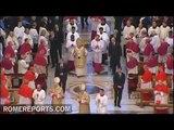 Benedict XVI celebrates the Epiphany in St. Peter's Basilica