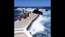 Piscine à vagues naturelle... trop génial