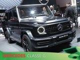 Mercedes Classe G en direct du salon de Genève 2018