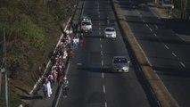 Niñas marchan 41 kilómetros para recordar a 41 niñas muertas en incendio