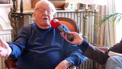 """Jean-Marie Le Pen : """"Être pupille de la nation m'a profondément marqué. Il me semblait que j'avais plus de droits et plus de devoirs"""""""