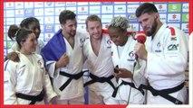 Réactions et podium  - ChM 2017 de judo par équipes mixtes