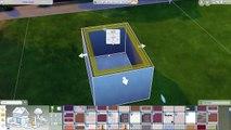 The Sims 4 | Basic Teenage Bedroom | Room Build/Speed Build+CC Links!!