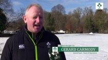 Irish Rugby TV: Snow Problem For Ireland Training