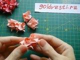 Как Из Бумаги Сделать Цветок Розу Видео Мастер Класс. Подарок Своими Руками